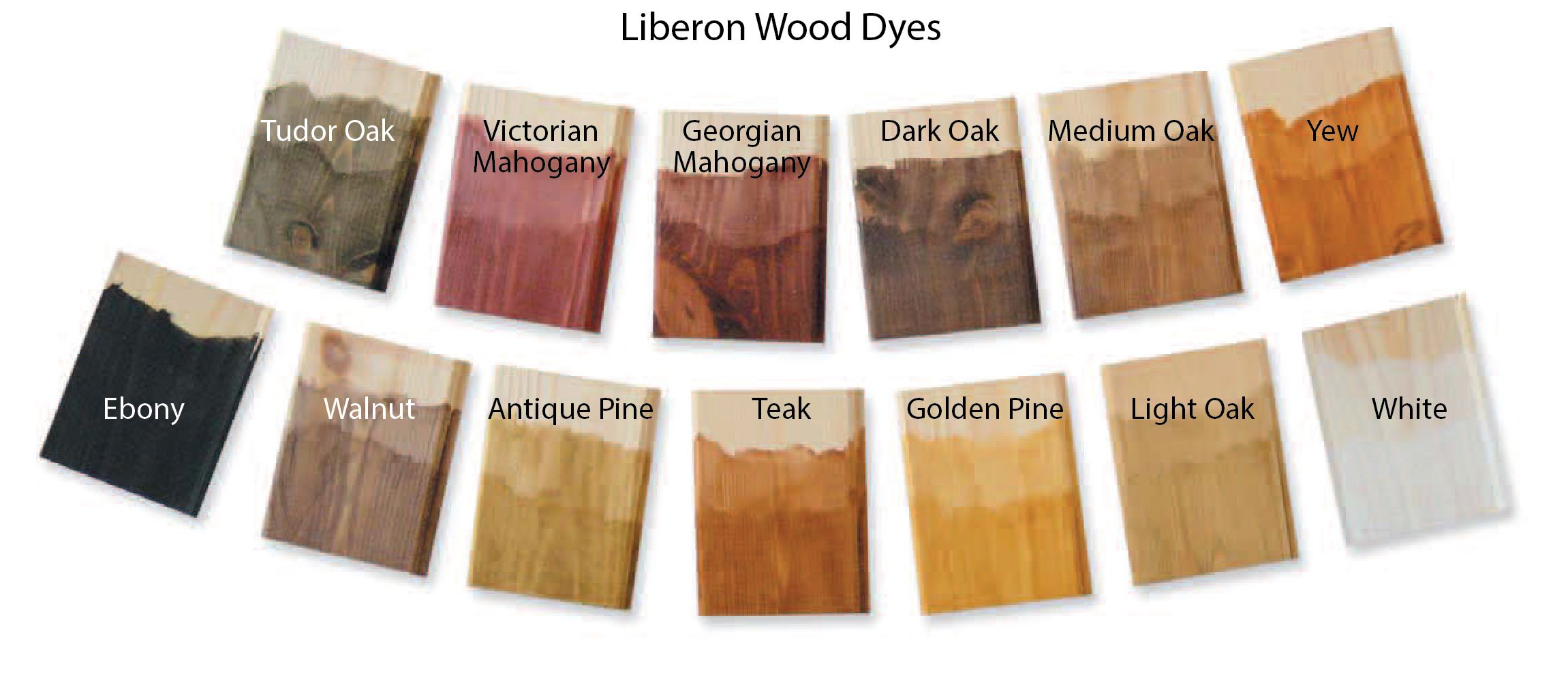 S G Bailey Paints Ltd Liberon Wood Dye Colours: wood colour paint
