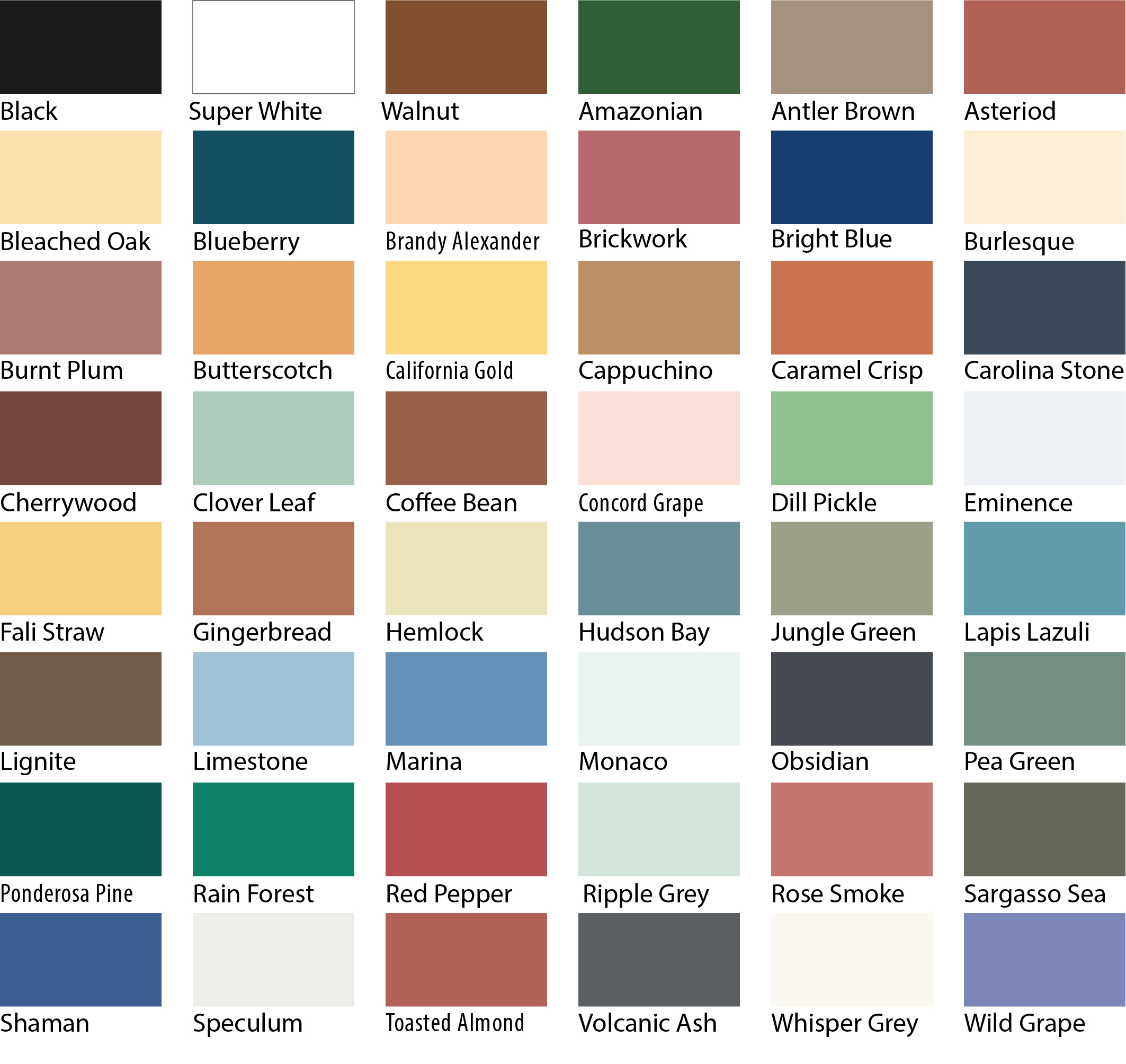 Wood paint colours chart crowdbuild for - Sadolin exterior wood paint image ...